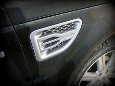 Silver wing air intake vents grille for Range Rover Sport 05-09 Supercharged HST
