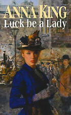 Anna King Luck be a Lady Very Good Book