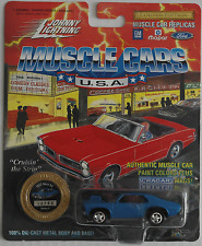 Johnny Lightning - ´72 / 1972 Chevy Nova SS blau Neu/OVP