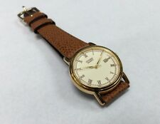NOS 1990's Citizen Unisex Cal. 6010 Leather Watch