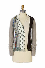 Anthropologie Charlie Robin spliced scarf cardigan sweater Women XS Worn Once