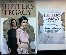 Jupiter's Legacy Vol 1 Graphic Novel w/Memorial Bookplate signed Millar, Quitely