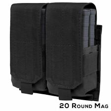 Condor Tactical Double 7.62mm Mag Pouch - Black #191089