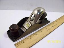 "Nice Vintage Stanley NO.110 Woodworking 7"" Block Plane - Made in U.S.A."