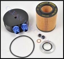 New BMW E36 e34 Oil filter Cooler Cap m3 325i 525i m50 325is 325ic z3 Black