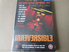 Irreversible (DVD, 2003)  NEW AND SEALED REGION 2