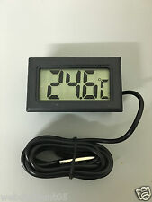 DIGITAL  AQUARIUM REPTILE THERMOMETER WITH PROBE FREEZE UK SELLER