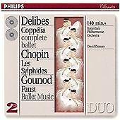 Chopin/Delibes/Gounod - Ballet Music (2CDs) (1993)
