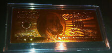 24 KT, UNITED STATES GOLD 100 DOLLAR COLLECTIBLE NOTE, COMES IN HARD SLAB HOLDER