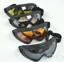4 Goggles / Lot - Multi Use Motorcycle Ski Snowboard Airsoft Safety Glasses