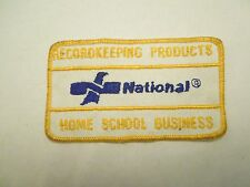 Recordkeeping Products National Home School Business Embroidered Sew On Patch