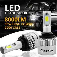 CREE COB 9006 HB4 9012 80W 8000LM LED Headlight Kit  Low Beam Power Bulbs 6500K