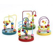 Circuit de Motricité en Bois 12 Boules Jouet Jeu Éveil pour Bébé Enfant