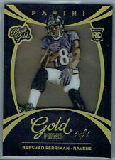 2015 PANINI BLACK GOLD ROOKIE GOLDMINE HOLO GOLD FOIL BRESHAD PERRIMAN #1/1