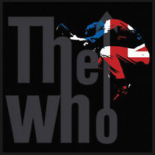 THE WHO - Patch Aufnäher UK logo 10x10cm