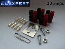 8 X Anderson PowerPole 30 Amp Conector eléctrico Panel Kit de montaje para Kit car_rc
