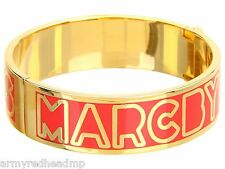NWT Marc Jacobs Rock Lobster Gold Classic Hinged Cuff Bangle Bracelet M5131051