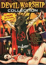 Devil Worship Collection Horror Hotel Devil's Nightmare DVD Rare OOP Cult Gore