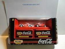 Matchbox Coca Cola VW Bug 2 Pack