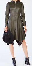 New with tag $298 BCBG Max Azria Beatryce Faux-Leather 3061 Dress Sz L