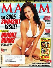 """""""MAXIM"""" (SWIMSUIT ISSUE)  ~ FEBRUARY 2005 ~  *** SPECIAL ISSUE ***"""