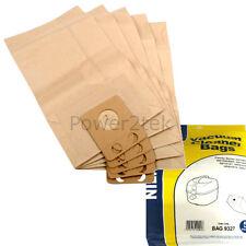 5 x gd poussière sacs pour nilfisk GC1000SER GD1010 GD10101 aspirateur