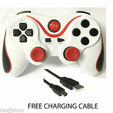 Recargable De Alta Calidad Bluetooth Wireless, gamepad Para Ps3 Blanco Rd