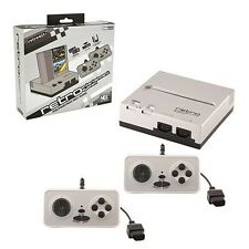 RETRO BIT NES CONSOLE 8-BIT TOP LOADER BLACK/SILVER ✔ EverDrive N8 Compatible ✔
