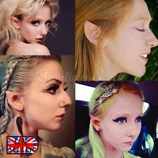 Flesh Fairy Elf Pointed Ears Spock Hobbit Alien Pixie Halloween Props Cosplay