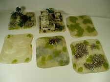 DBA DBM FOG FOW 15MM  ARAB VILLAGE AND DESERT TERRAIN BUA WARGAMES