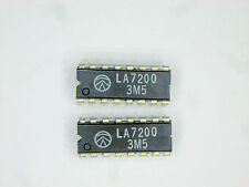 "LA7200  ""Original"" Sanyo  16P DIP IC  2  pcs"