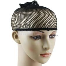 Unisex Stocking Wig Liner Cap Snood Nylon Stretch Mesh Black New