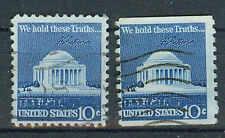 Briefmarken USA 1973 Jefferson Denkmal Mi.Nr.1127