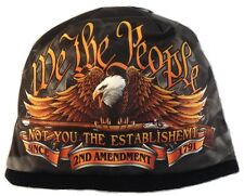 WE THE PEOPLE Beanie Knit Cap Motorcycle 2nd Amendment Biker Army USMC Hat Ski