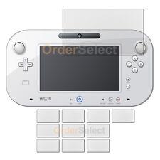 10X Anti-Scratch Clear LCD Screen Guard Protector for Nintendo Wii U GamePad 6.2