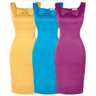 Vintage 1940'S 50s Wiggle Cocktail Party Casual Career Bodycon Pencil Dress SALE
