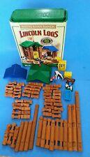 Lincoln Logs White River Ranch 81-82 pcs - Real Wood Logs