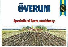 Farm Equipment Brochure - Overum -  Product Line Overview Combine et al (F4894)