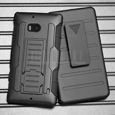 Rugged Holster Hybrid Case Shockproof Hard Cover For Nokia Lumia Icon 929 930