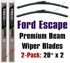 2008-2012 Ford Escape Wipers 2-Pack Premium Beam Blade Wiper Blades - 19200x2