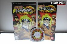 NARUTO ULTIMATE NINJA HEREOS PSP