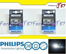 Philips X-Treme Vision LED 38mm White 6000K 1W Two Bulbs Replacement Lamp Light
