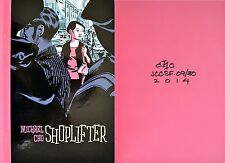 Michael Cho~SIGNED,DATED,DRAWING~Shoplifter~1st/1st + Photos!! Debut Novel