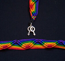 2 X Gay Pride Male Symbol Rainbow Friendship Bracelets Mars Man Men Love Gift