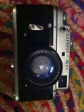 zorki-4K vintage soviet camera USSR with Jupiter 8 lens