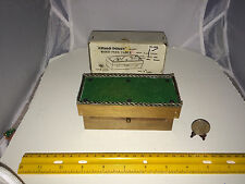 1:12 SCALE VINTAGE MINIATURE WOOD POOL TABLE W DRAWER (TABLE ONLY) HELLO DOLLY