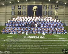 2013 INDIANAPOLIS COLTS NFL FOOTBALL TEAM 8X10 PHOTO PICTURE