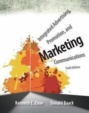 Integrated Advertising Promotion and Marketing Communications 6e Int'l Edition