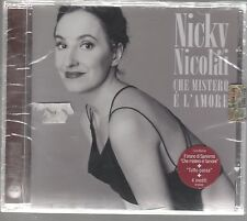 NICKY NICOLAI CHE MISTERO E' L'AMORE CD F.C. LUCIO DALLA RENZO ARBORE SIGILLATO!