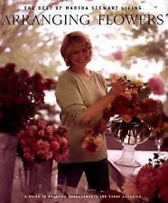 Best of Martha Stewart Living: Arranging Flowers Hard Cover Book